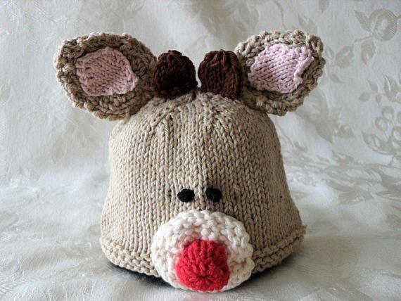 Sombrero del bebé tejer sombrero del bebé de punto sombrero