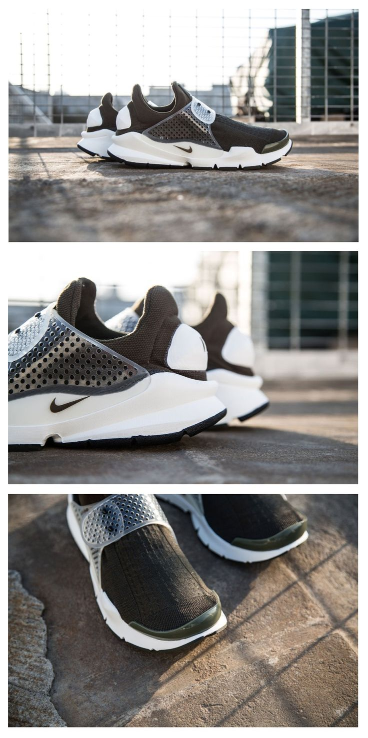 NikeLab x Fragment Sock Dart - In 2004, the Nike Sock Dart became the first shoe crafted with computerized knitting technology. More than ten years later, it still looks and feels ahead of its time.