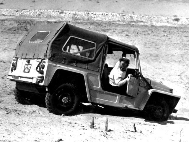 "ВАЗ ""Крокодил"" Опытный (Э2121) '1972"