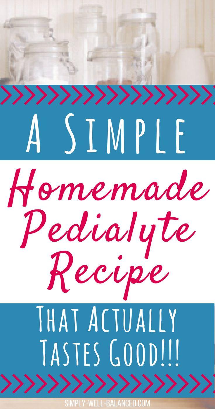 A simple homemade pedialyte recipe homemade pedialyte