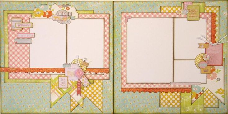 Love this layout by Paisleys and Polka Dots this month!