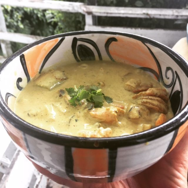Prawn curry goodness
