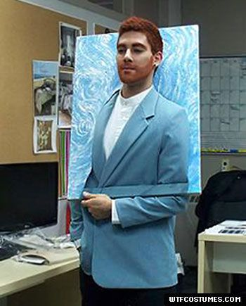 Halloween Costume: Van Gogh or Self Portrait