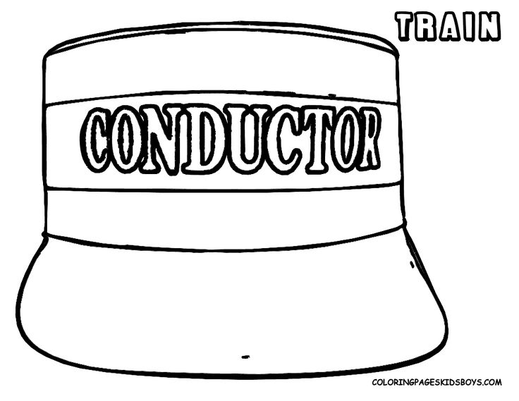 thomas coloring pages train engineer - photo#19