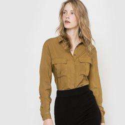 Chemise à poches R essentiel - Chemisier, blouse, tunique
