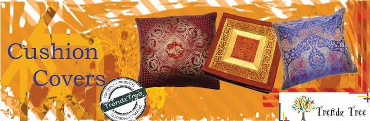 "Cushon covers Indian ethics of ""atithi satkar"" in which guest is supreme and divine, is incomplete without the welcome of guest in a beautifully decorated house. We provide elegant handloom made Cushion Covers to give the ambience of your house a splash of ethnic touch. We deal in bulk orders for your convenience. Kindly give us the opportunity to cater your dreams and help in decorating your ambience."