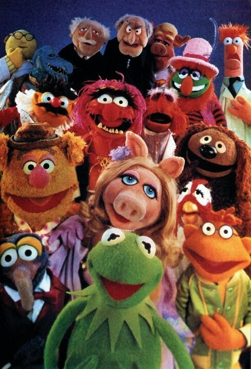The Muppet Show----Always a funny Show,regardless of which celebrity was their guest!