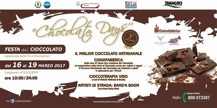 Festa del cioccolato a Salerno. Leggi il programma