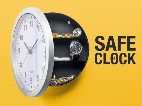 Praktisch - Uhrensafe, Diebstahlsichere Aufbewahrung für Wertsachen!