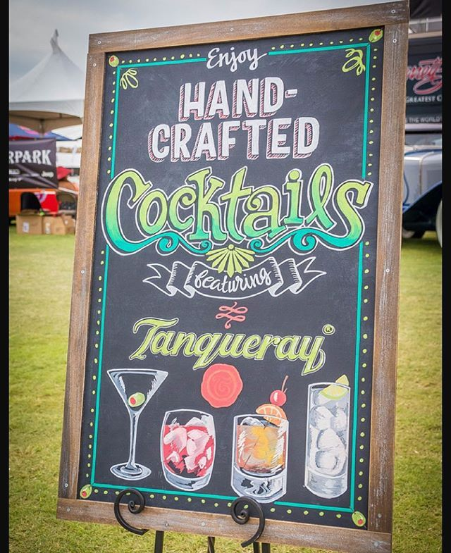Create bold and colourful restaurant boards / signs like this with SuperChalks Liquid Chalk Markers!