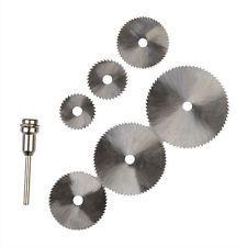 6 Pcs HSS Circular Saw Blade Dremel Cutting Discs for Rotary tools ship from USA