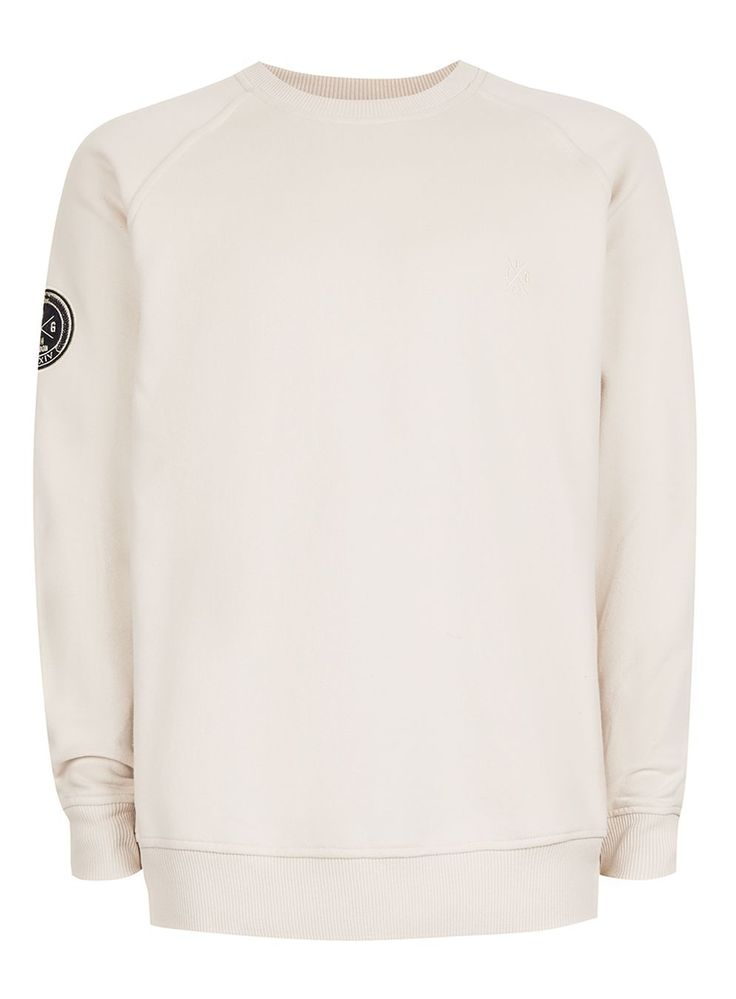JOG ON Cream Sweatshirt*