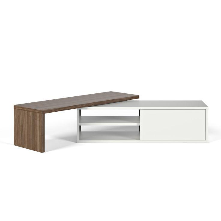 17 meilleures id es propos de meuble tv bas sur for Meuble bureau 974
