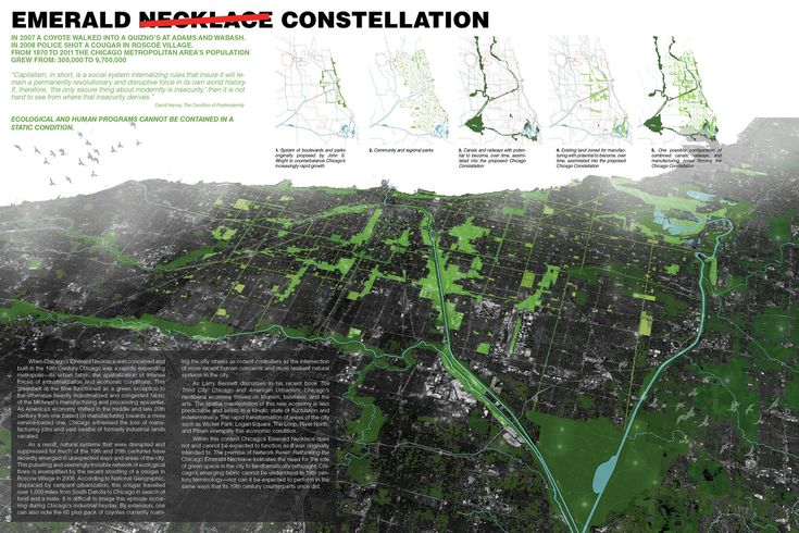 Gallery - Network Reset: Rethinking the Chicago Emerald Necklace Competition Winners - 14