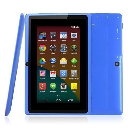 """BTC Flame UK Quad Core 7"""" Tablet PC (8GB HDD, Google Android KitKat, HDMI, WIFI, USB, Bluetooth, res:1024x600) - Blue by Best of British Tablet Company  3.2 out of 5 stars    2,093 customer reviews  
