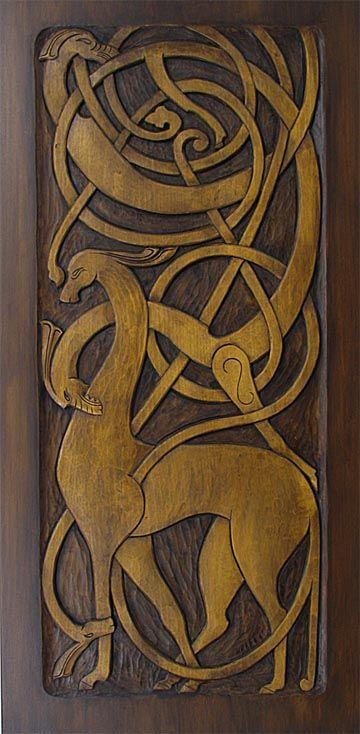 Norsk Veiforming - shows Scandinavian influence on Celtic cultures of Ireland, Scotland & Britain.