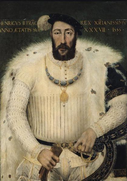 jeannepompadour:  Portrait of Henry II,King of France (1519-1559)
