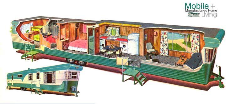 Vintage Mobile Home Ads 4 Restoration Decorating And Vintage