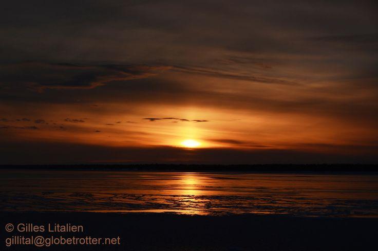 les plus beau coucher de soleil sont à Rimouski