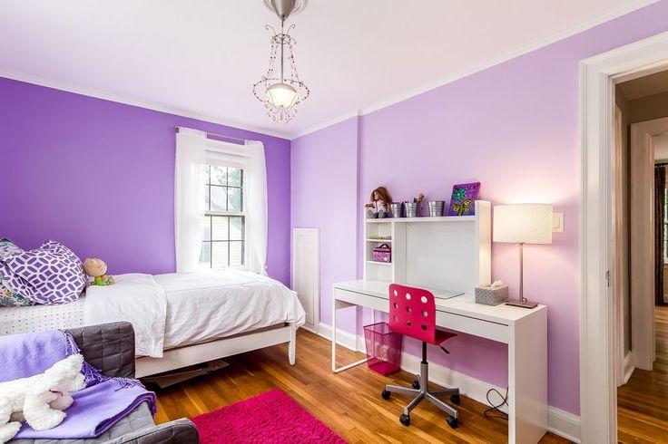 Интерьер в фиолетовых тонах: сочетания, обзор по комнатам, 70 фото-4
