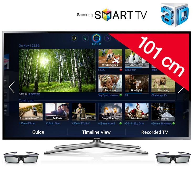 samsung t l viseur led 3d smart tv ue40f6400 noir prix promo ttc tv. Black Bedroom Furniture Sets. Home Design Ideas