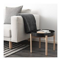 IKEA - YPPERLIG, Coffee table, Solid birch is a durable natural material.The included plastic feet protect the floor from scratches.
