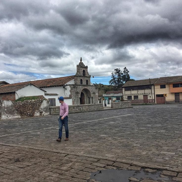 This is the original place of foundation of the city of Quito called Santiago de Quito in 1534.  After an earthquake the capital city was moved to its current location San Francisco de Quito.  La Balbanera church in Chimborazo province #Ecuador.