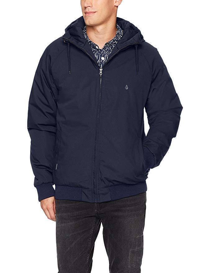 bd0f479843d4 Volcom Men s Hernan Heavy Weight Hooded Jacket Review   Jackets and Coats    Jackets, Mens clothing styles, Hooded jacket