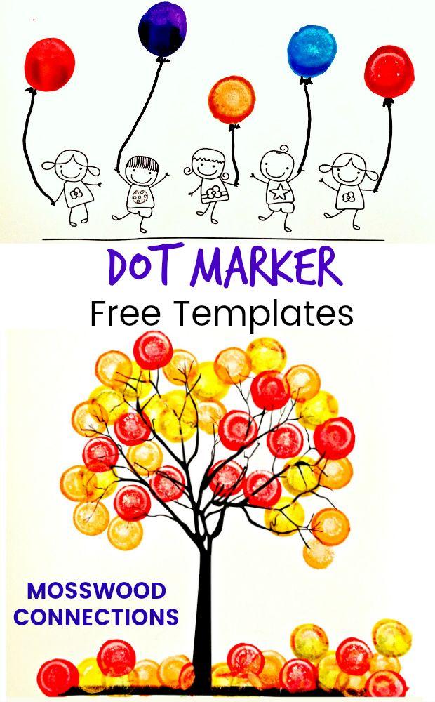 Sticker and Dot Marker Art Fine Motor Fun