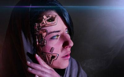 Cyborg wallpaper