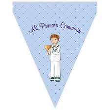 Resultado de imagen de banderines de comunion para imprimir gratis
