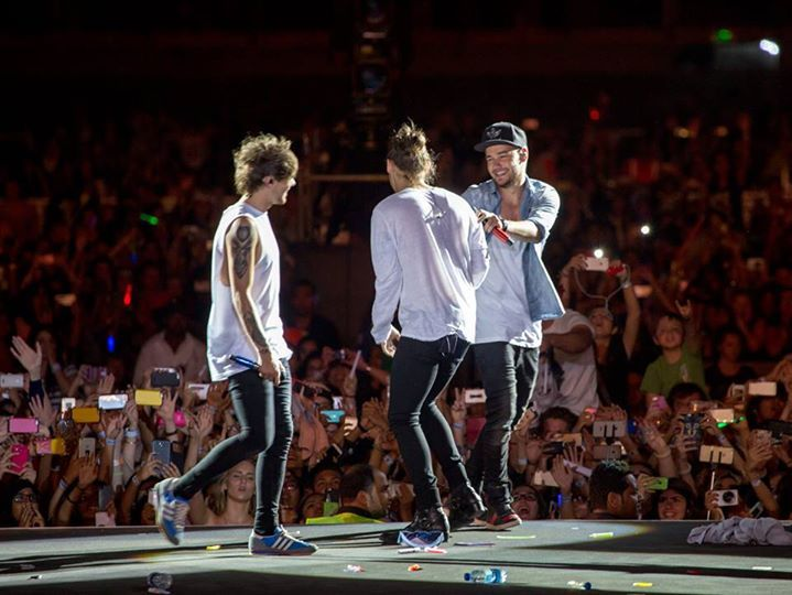 Louis, Harry and Liam