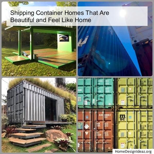36 Amazing Container Home Designs Shipping Container House Plans