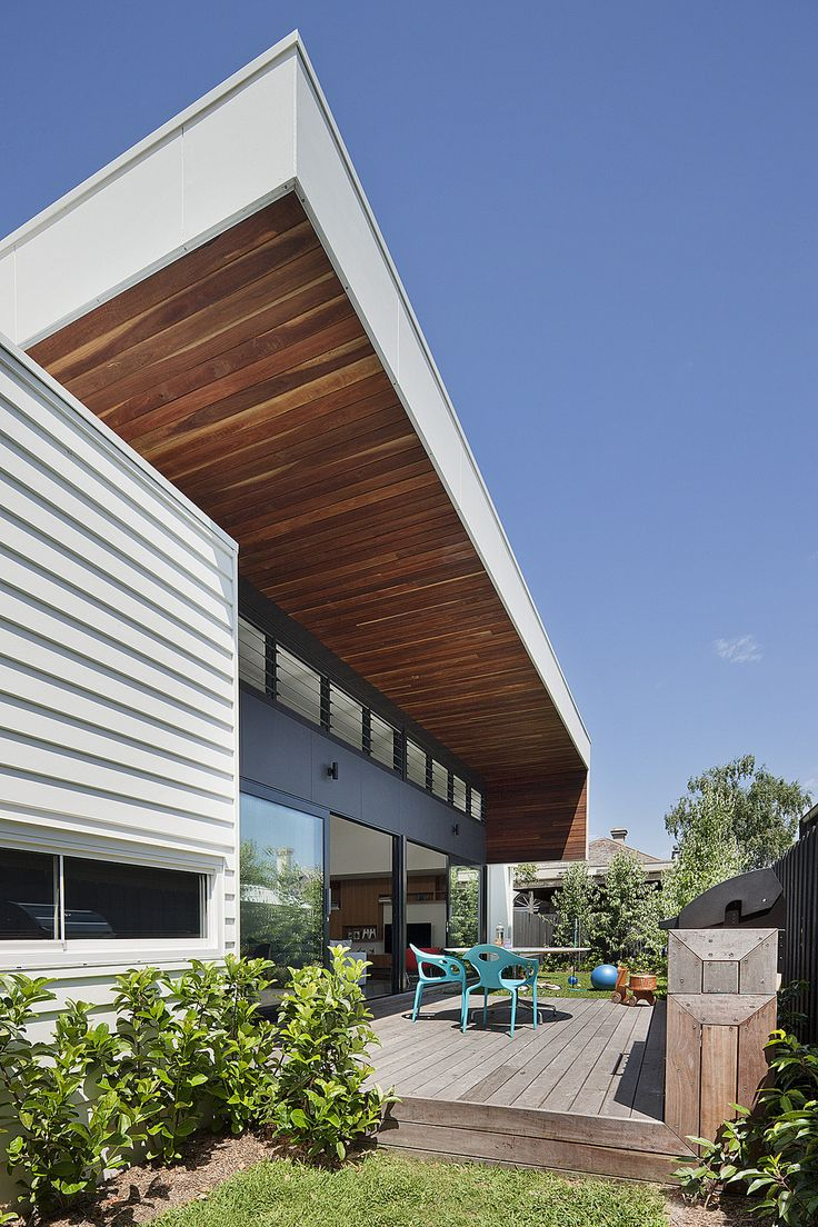 Canopy House in Elsternwick, Melbourne by Bower Architecture. Bower Architecture is an architecture and interior design firm based in Melbourne, Australia and was formed in 2005 by 3 architect directors Chema Bould, Anna Dutton and Jade Vidal. Bower Architecture specialises in multi-residential, residential, public and commercial architecture and interior design and is located in Prahran and based in Melbourne, Australia.