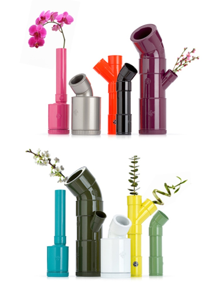 Tuberías que florecen/ Pipes that bloom  #recycle design