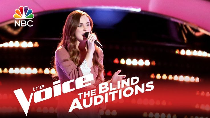 """The Voice 2015 Blind Audition - Sydney Rhame: """"Photograph"""".  now that's a lovely voice."""