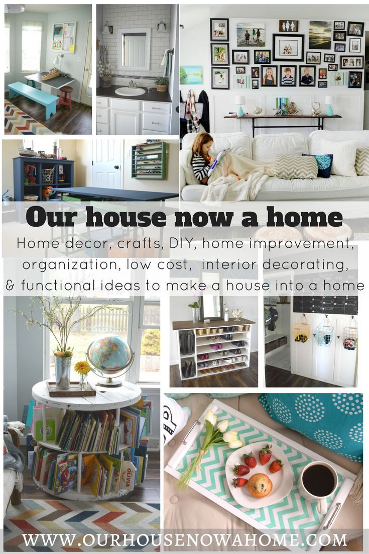 One of the best home decor, craft, renovation and DIY blogs out there. Such simple and low cost ideas to decorate a home! Over 10 free printables to help decorate your home!