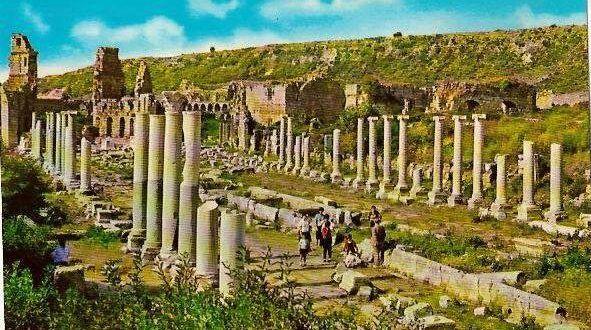 Perge Antik Kent Antalya