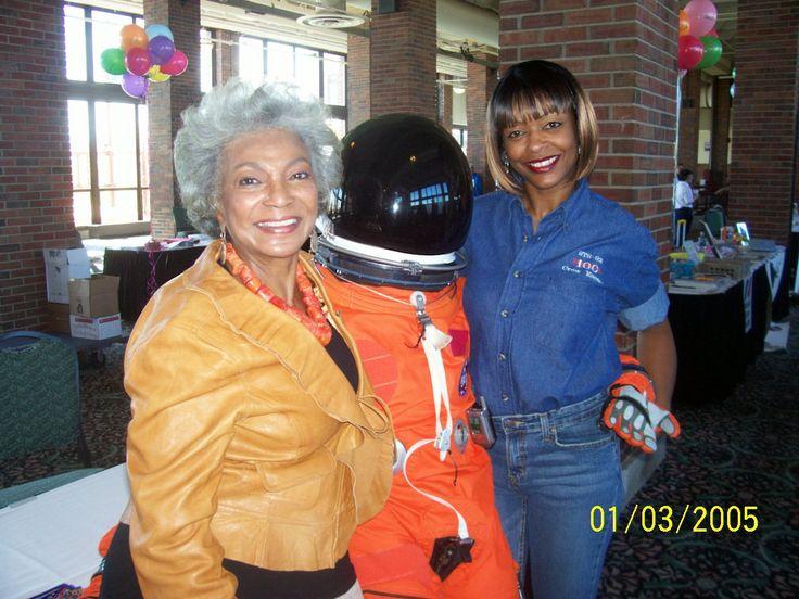 Nichelle Nichols and Sharon Caples McDougle | astronauts ...