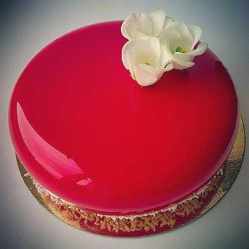Cobertura de Vidro Para Bolo - Recipe - Receita -  Mirror Glass Cake