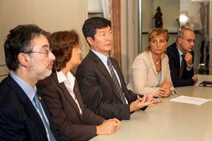 Lobsang Sangay è stato ospite, il 26 ottobre, dell'Associazione per il Tibet e i diritti umani.