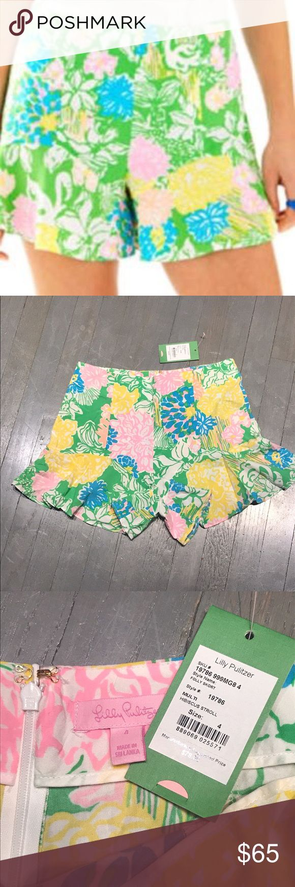 Lilly Pulitzer Hibiscus Stroll Folly Skort shorts Lilly Pulitzer Hibiscus Stroll Folly Skort shorts. Matching girls dress for sale in another listing Lilly Pulitzer Shorts Skorts