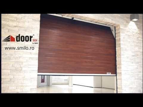 Usi de garaj sectionale doorTECK | Smilo Holding