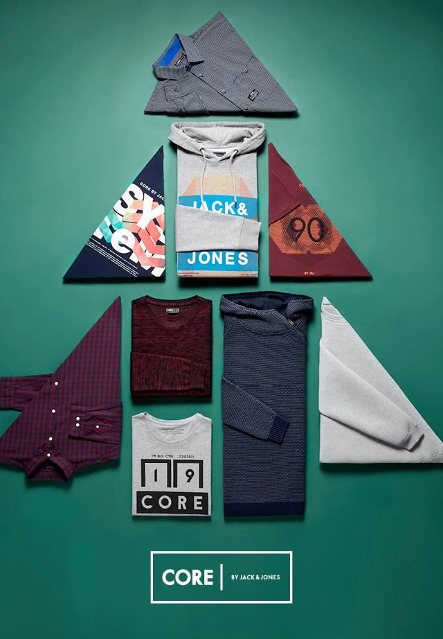 The sharpest gifts under the tree this year is from CORE by JACK & JONES.