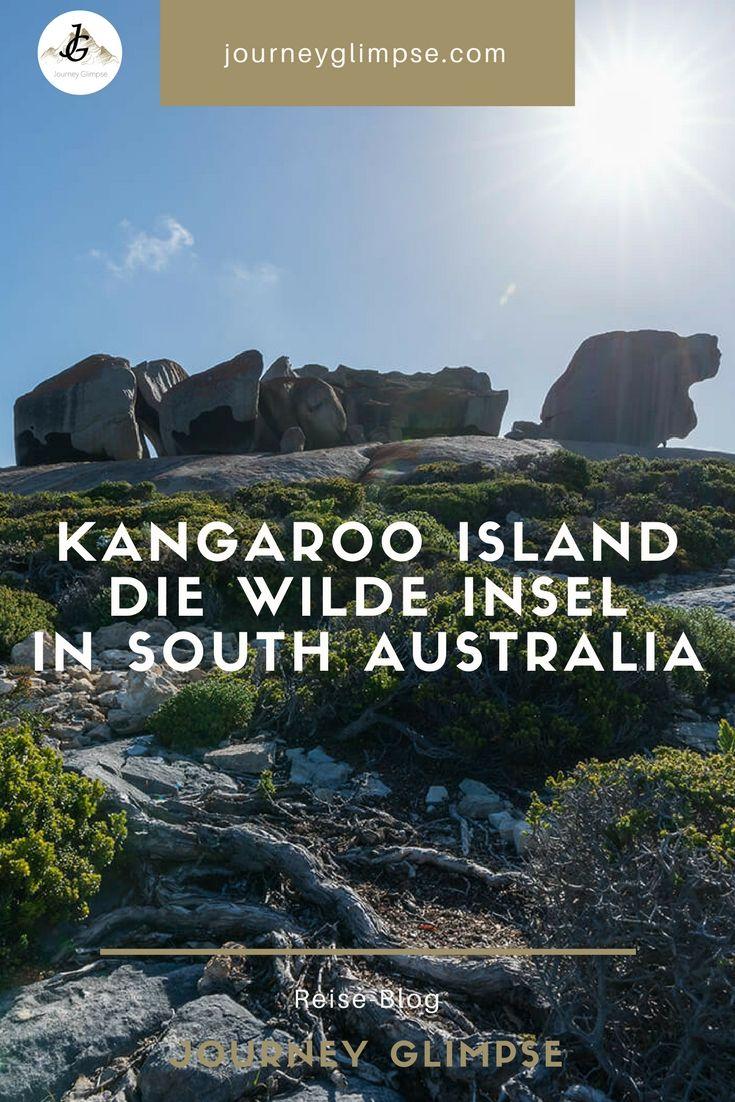 Kangaroo Island ist die wilde Insel im Süden von Australien. Neben vielen Tieren wie Kängurus und Wallabies, bietet die Insel vor allem auch umwerfende Landschaften.