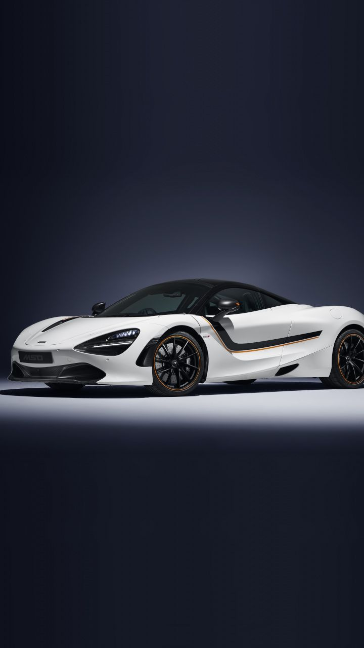 White Sports Car 2018 Mclaren 720s Track Theme Mso 720x1280 Wallpaper Sports Car Car Wallpapers Car