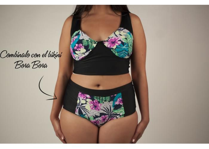 Mint Flamingo Swimwear: Bora Bora Top - Kichink!