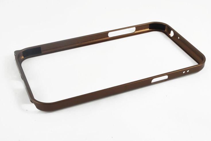 Чехол бампер Cross-Line железный Samsung N7100 Galaxy Note 2 (бронзовый)  Чехол бампер Cross-Line железный Samsung N7100 Galaxy Note 2 (бронзовый)