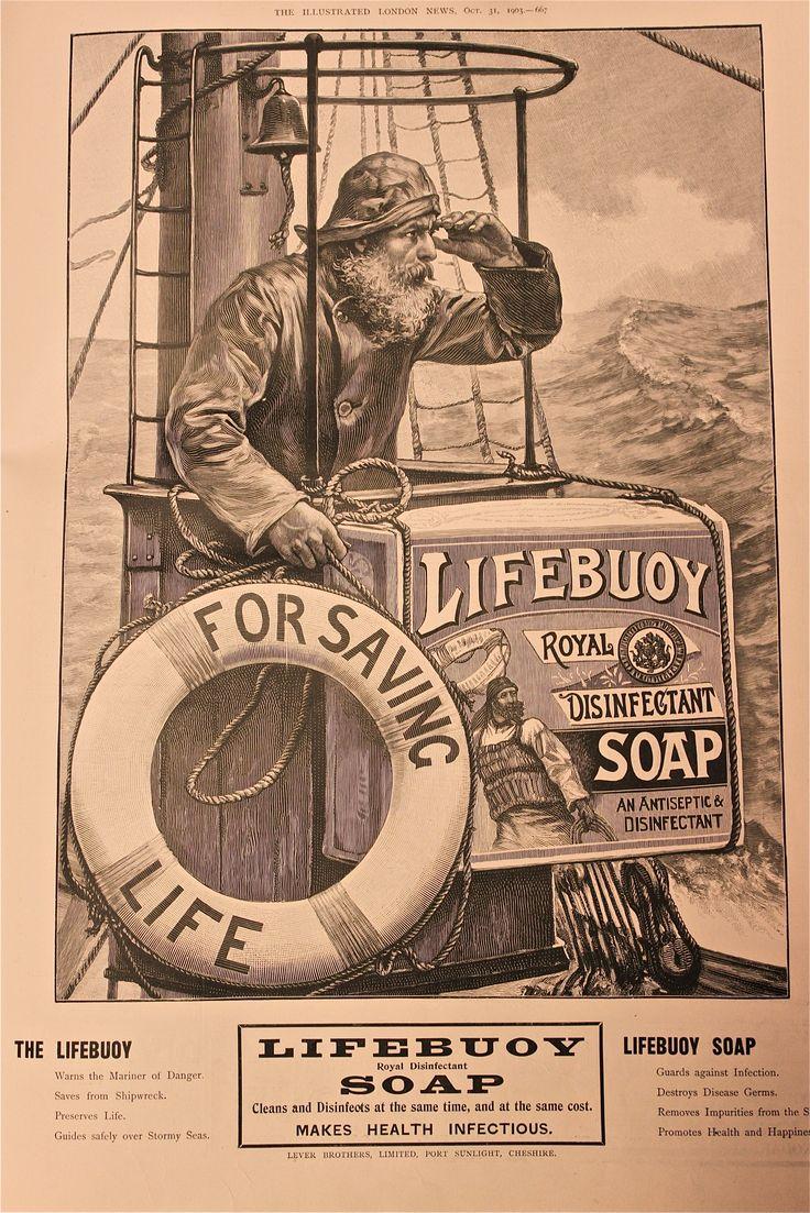 Lifebuoy soap ad 1903