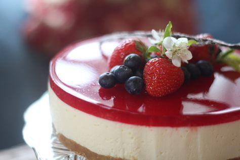 Mormor lager alltid denne ostekake når det er fest og bursdag i familien. Den er utrolig god på s...